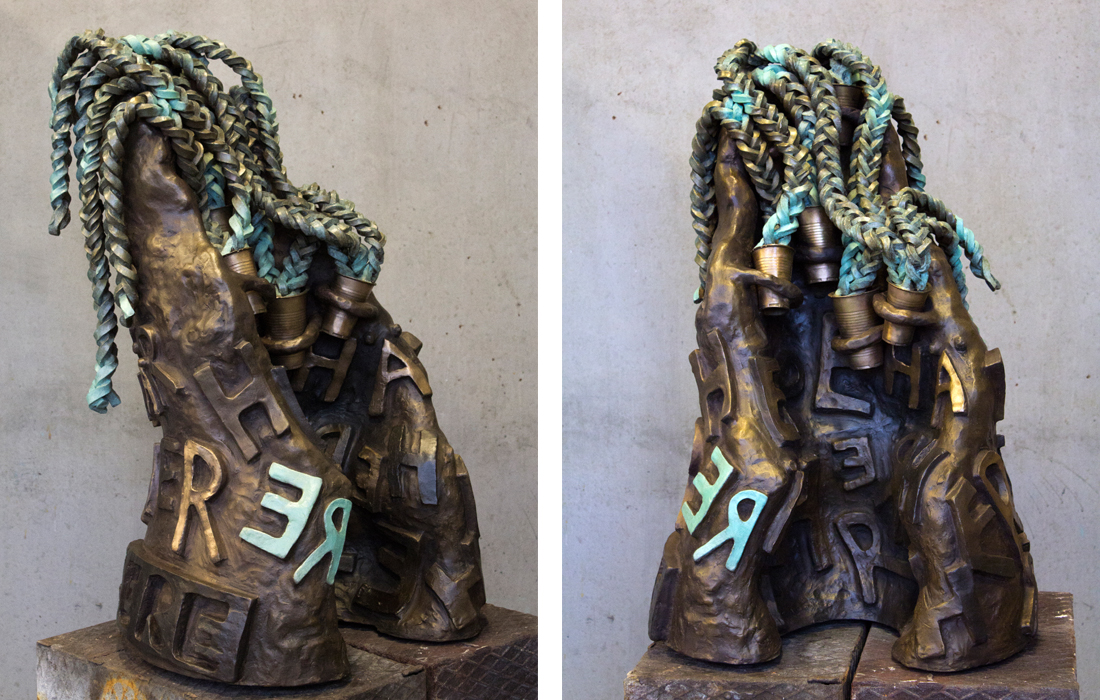 Bronze sculpture edition: Idioms 2014-2019